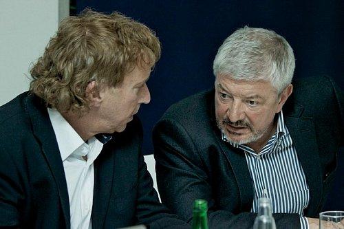 Radim Pařízek a Vladimír Železný teď mají před sebou těžký úkol. Podaří se jim do multiplexu 4 získat dostatek zákazníků?