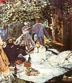 Claude Monet, Snídaně v trávě