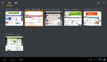 Mobilní Firefox 36 pro Android