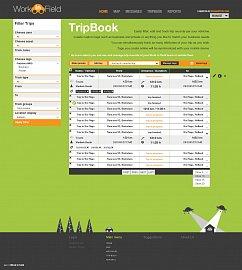 Webové rozhraní aplikace Work in Field