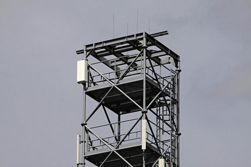 Vysílač multiplexu 4 na Karlovarsku.