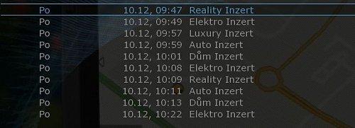 Programový průvodce Inzert TV obsahuje pouze základní fakta.