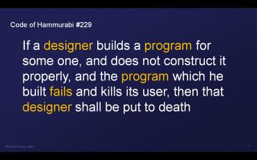 Designér nese odpovědnost za výsledek své práce.