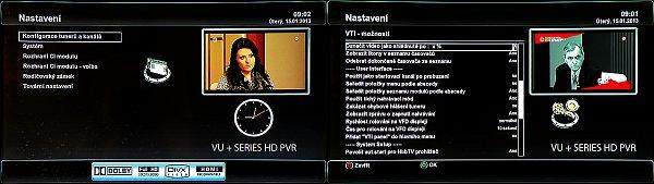 Další ze zajímavých funkcí přijímače je například obraz v obraze (PIP), který zvládá zobrazit i dva HD kanály najednou. Pokud například čekáte na začátek dalšího programu na jiném kanále, je tato funkce neocenitelná.