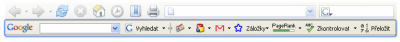 Google Pack - toolbar