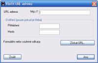 HTTrack Website Copier  - heslo