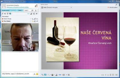 MS_Videokonference se sdílením prezentace