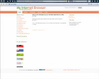 My Internet Browser - okno prohlížeče