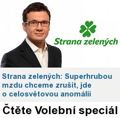 Volby: Banner Zelení