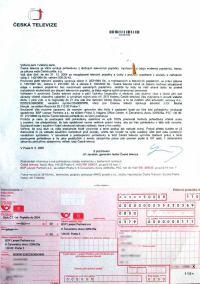 Dopis ČT 2005