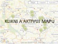 Vitalia - Mapa lázní