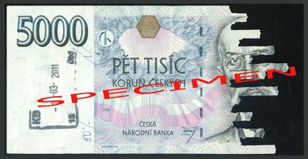 Poškozené bankovky 2 - standard