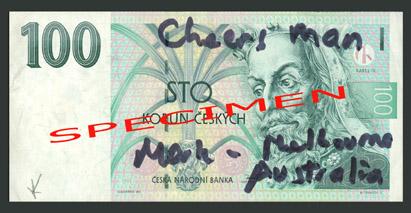 Poškozené bankovky 6