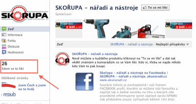 Facebook e-shop