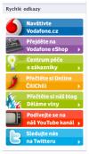 FB vodafone menu