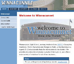 Prezentace Winnacunnet High School
