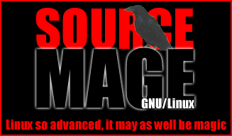 logo: Source Mage   GNU/Linux