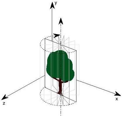 Vytvoření modelu stromu (billboardu) s využitím texturování