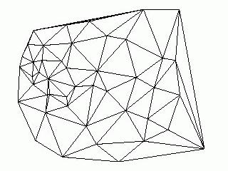 Nepravidelná trojúhelníková síť - TIN
