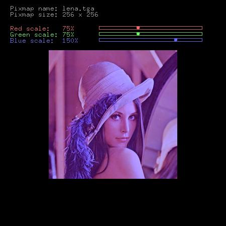 Screenshot druhého demonstračního příkladu
