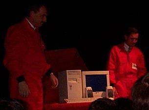 FOTO: Red Box, krátce po otevření