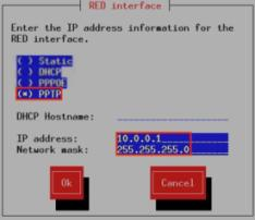 RED interface