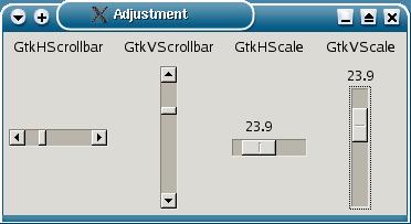scrollbar a scale