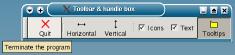 toolbar a tooltip