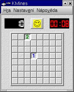 Screenshot KMines