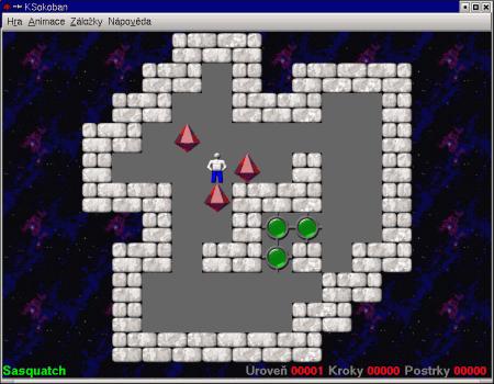 Screenshot KSokoban