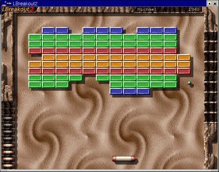 Screenshot Lbreakout