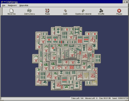 Screenshot Mahjongg