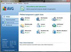 AVG AntiVirus 2016 - náhled