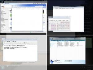 Finestra Virtual Desktops 2.5.4501 - náhled