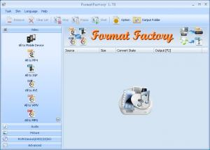 Format Factory 3.8.0 - náhled