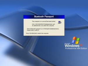Bluetooth Passport