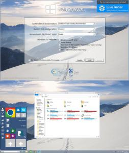 Windows 10 Transformation Pack 4.5 - náhled
