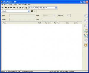 CDex 1.79 - náhled