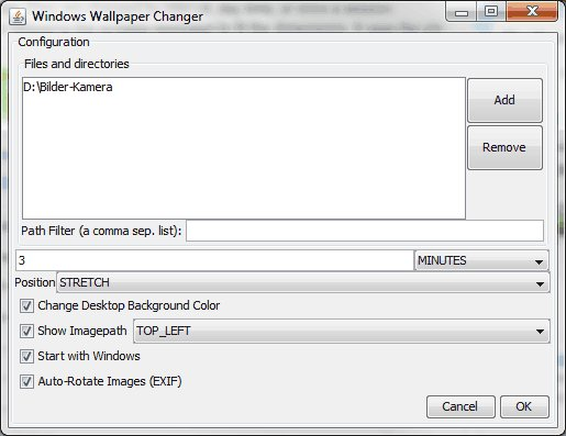 Free Download Automatic Wallpaper Changer Xp