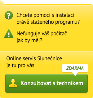 Online servis od Slunenice