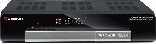 Octagon SF1008 HD - Inteligence přední panel