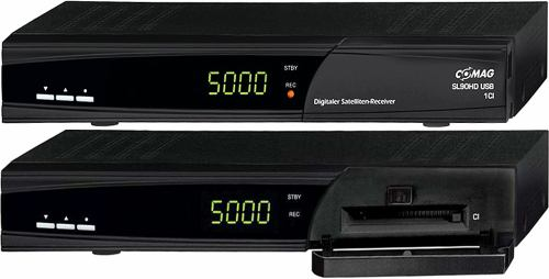 Comag SL90 HD přední panel