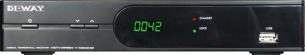 DI-WAY T-100HD RF přední panel