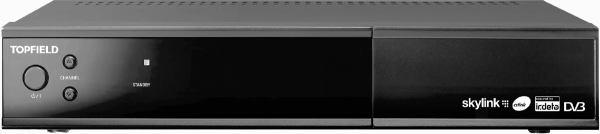 Topfield SBI-5450 přední panel