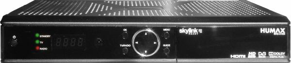 Humax IRHD-5100S přední panel