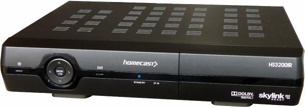 Homecast HS 3200IR předek z boxu