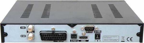 Amiko 7800 zadní panel