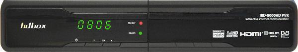 HD BOX IRD-8000 HD PVR přední panel 2
