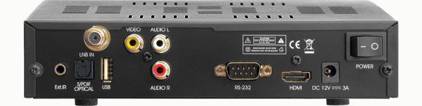 ATlink 100 IR zadní panel