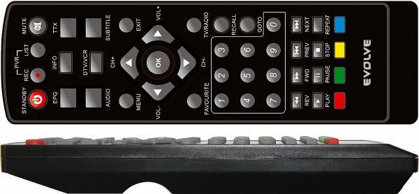 EVOLVE DT- 3010HD dálkový ovladač